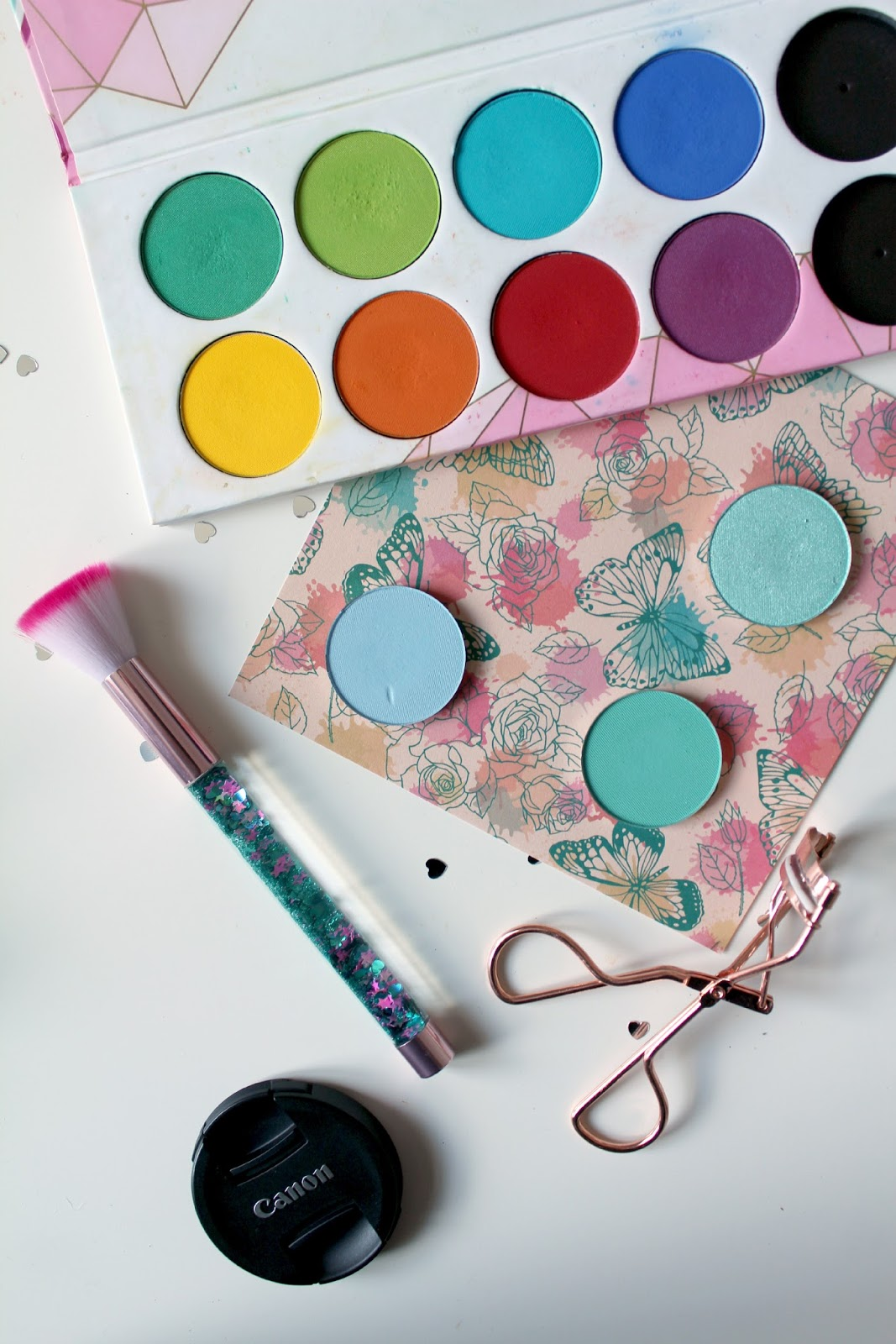 sugarpill pro pan pressed eyeshadows, review, swatches, custom pro palette, 12-pan palette