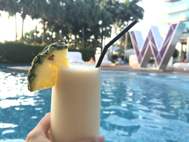 Juice by W hotel Pool side