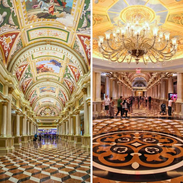Italian hotel design marble columns