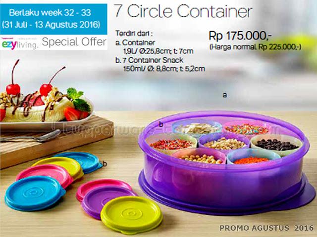 7 Circle Container Promo Agustus 2016
