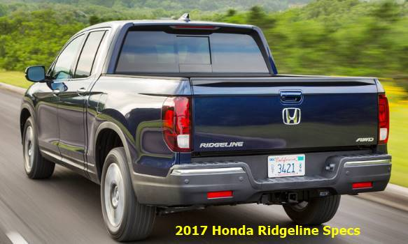 2017 Honda Ridgeline Specs Canada