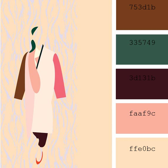 #HunterGreen color palette