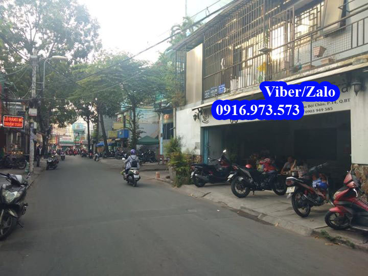 Bán nhà Mặt tiền đường Phan Bội Châu quận Bình Thạnh. Giá chốt 5,6 tỷ