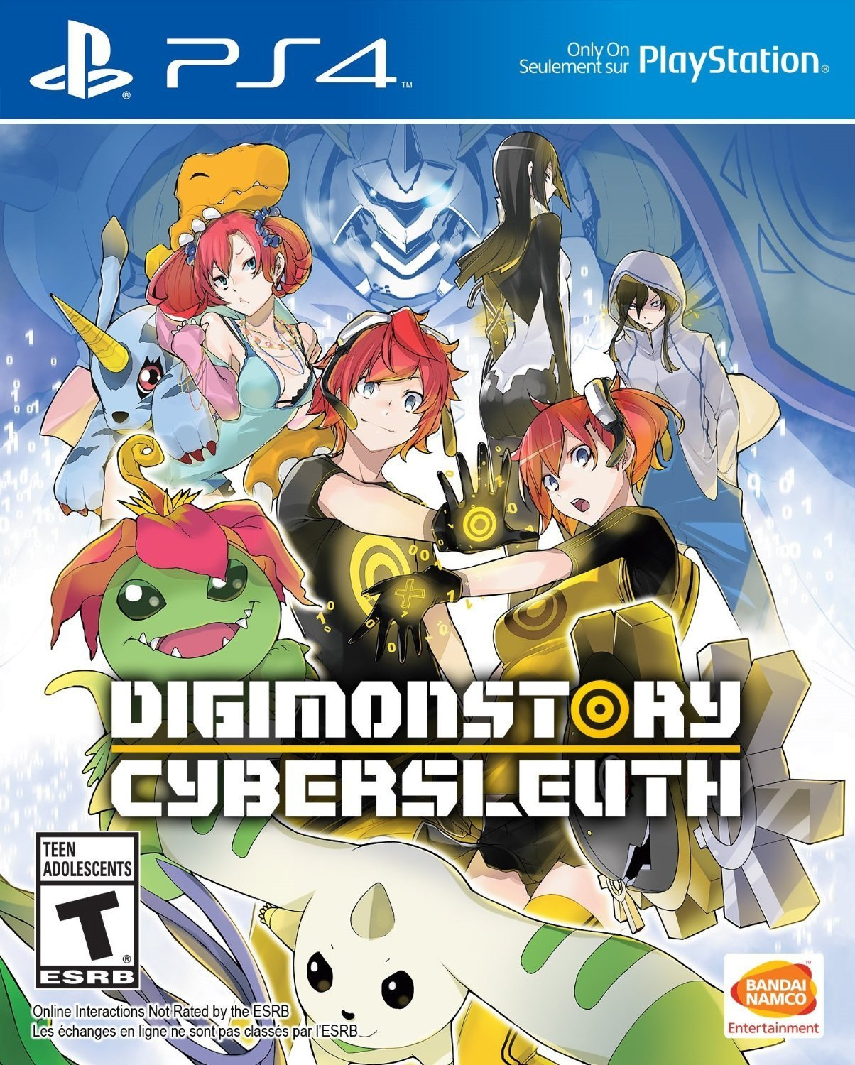 PS4 Games for Kids Under 10: Digimon Story: Cyber Sleuth