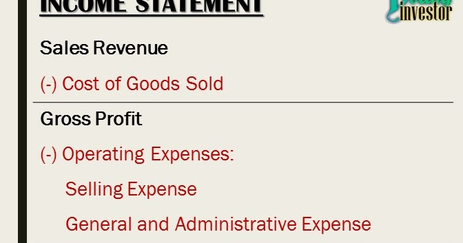 Income Statement - Malaysia Young Investor
