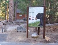 NPS park kiosk