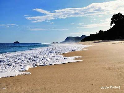 Pantai mingar, orang mingar, lembata, wisata lembata