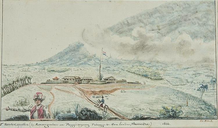 Jelajah Nagari Awak Fort De Kock Dan Fort Van Der Capellen Jejak Benteng Kolonial Di Minangkabau