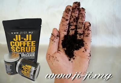 ji-ji coffee scrub