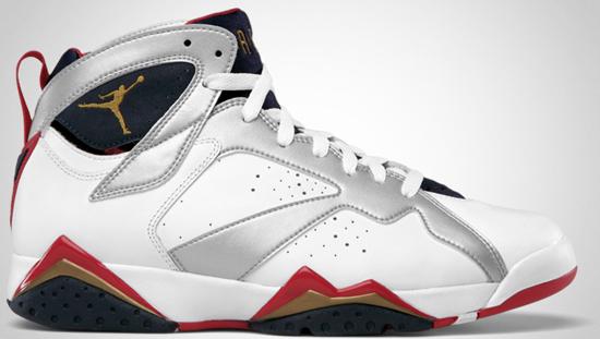 los angeles d3ae5 15e8d Air Jordan 7 Retro (07 01 2012) 304775-135 White Metallic Gold-Obsidian-True  Red
