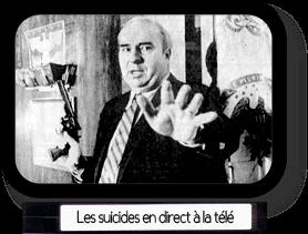 Les suicides en direct à la télévision