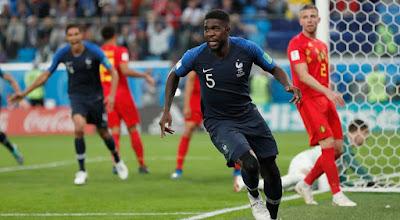 Highlight Perancis 1-0 Belgia, 10 Juli 2018