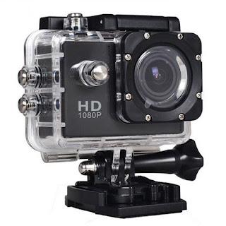 فتح صندوق ومراجعة لكاميرا SJ400 منافسة GoPro
