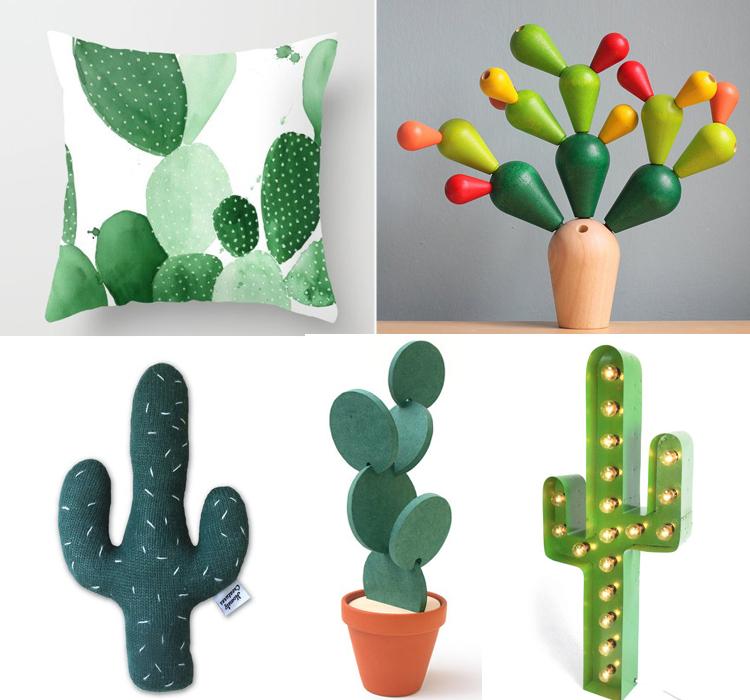 Cactus mania arredamento facile for Oggetti di design famosi
