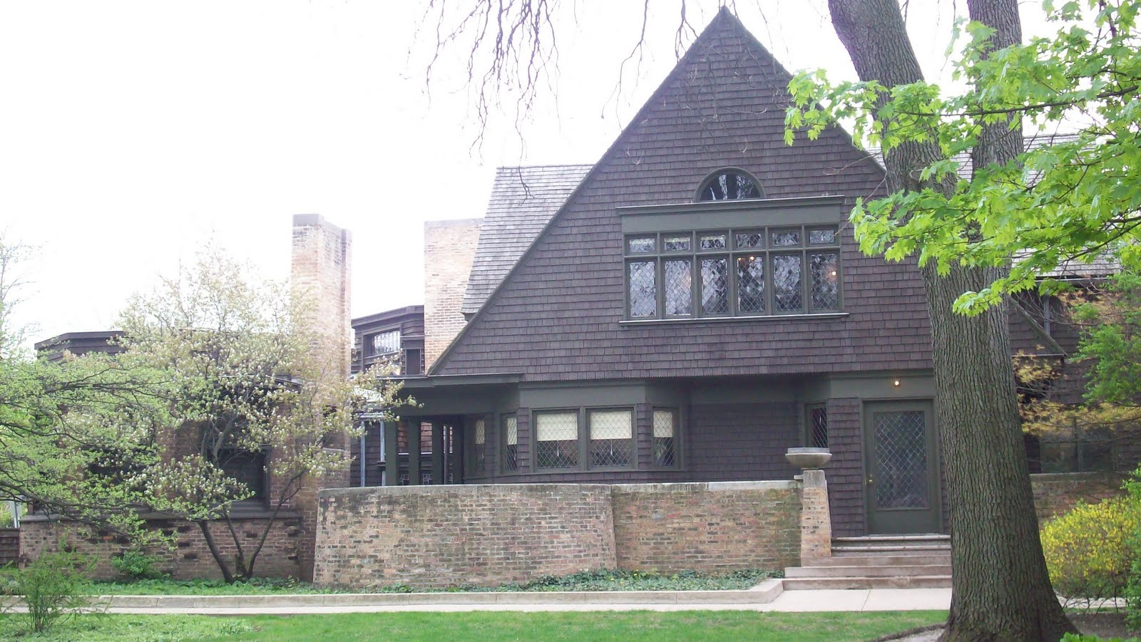 histoire d 39 art chicago sur les pas de l architecte franck lloyd wright. Black Bedroom Furniture Sets. Home Design Ideas
