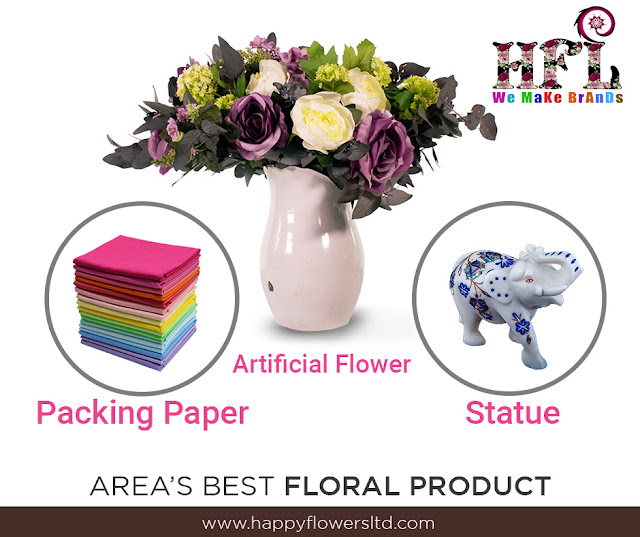 Floral Products in India | Flowers Packing Paper