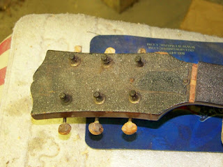 image Fire Damaged Guitar Repair