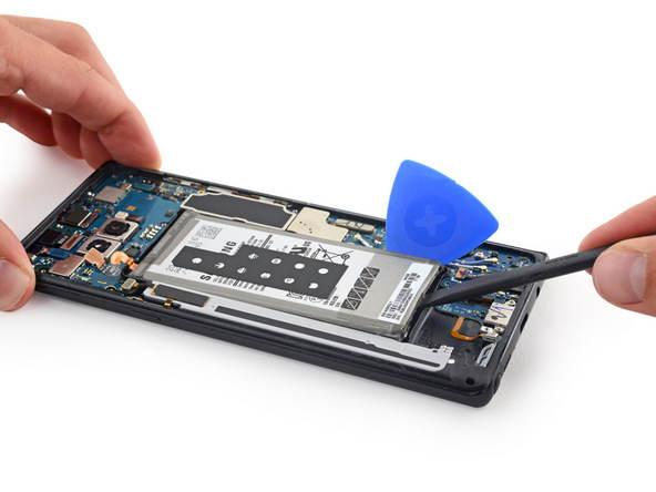 komponen Galaxy Note 8