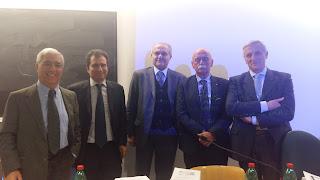 Bruno Bises, Nicola Lupo, Giovanni Serges, Fulco Lanchester, Massimo Luciani (1/2)