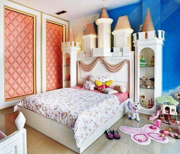 Desain Kamar Tidur Anak Perempuan Mewah