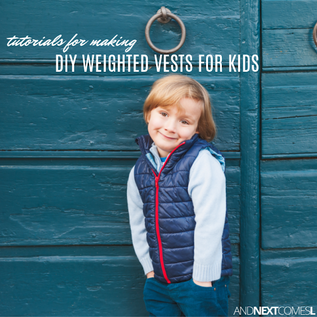 DIY weighted vest tutorials
