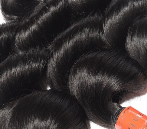 3 Bundles Loose Wavy Virgin Malaysian Hair Natural Black 300g -Price:$48.59
