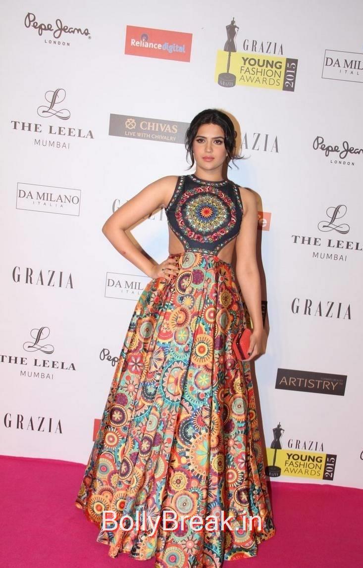 Deeksha Seth Pics, Deeksha Seth Hot Pics from Grazia Young Fashion Awards 2015