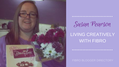 Susan Pearson from Living creatively with Fibro