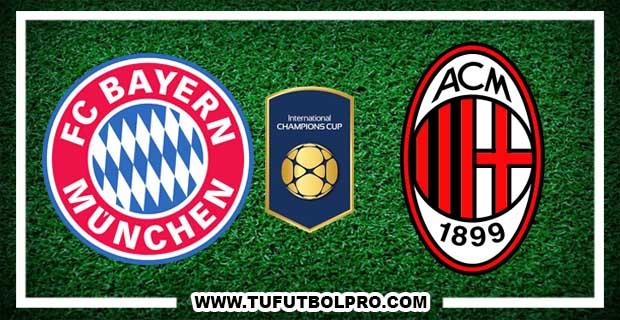 Ver Bayern Munich vs Milan EN VIVO Por Internet Hoy 22 de Julio 2017