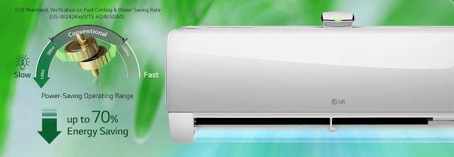 Fitur Watt Control Membuat AC LG DUALCOOL Hemat Energi Namun Tetap Dingin