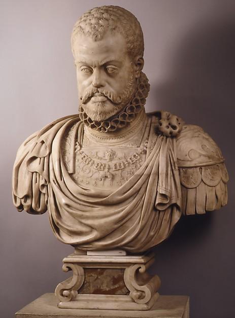 Philip II statue