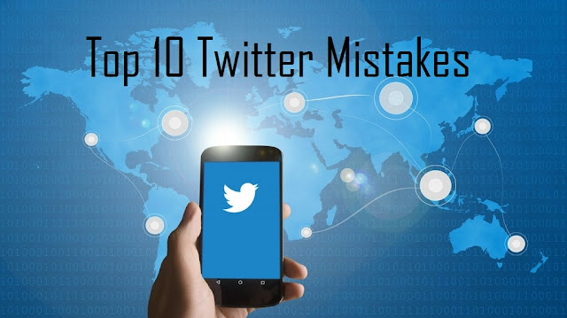 10 Twitter Mistakes That Are Harmful For Your Business [Infographic]