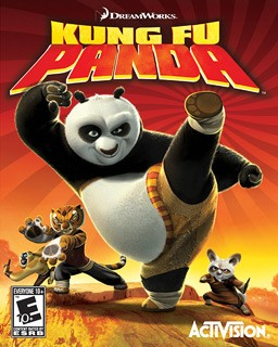 Kung Fu Panda BluRay Filmes Torrent Download capa