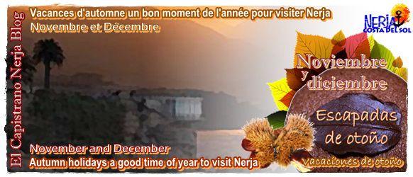 Vacaciones de otoño, un buen momento del año para visitar El Capistrano Villages en Nerja.