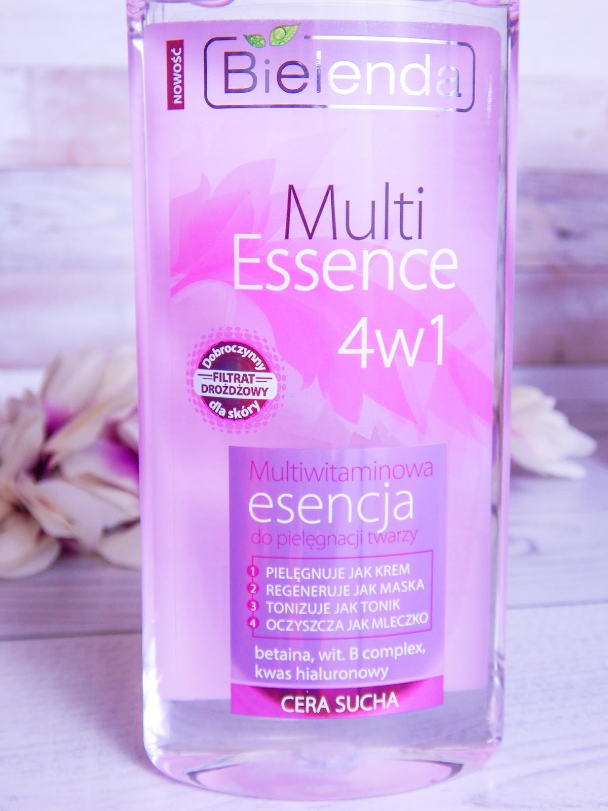 8 multi essence 4w1 bielenda recenzja multiwitamicowa esencja do pielęgnacji twarzy