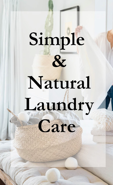 Simple Natural Laundry Care Tips & Tricks