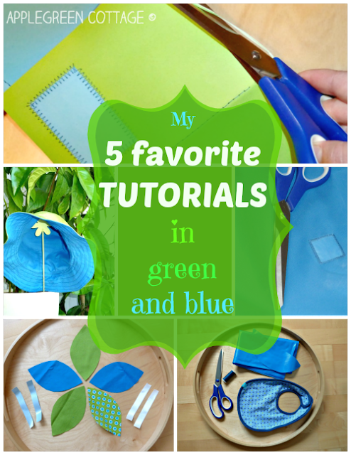 http://www.applegreencottage.com/2014/10/my-top-5-sewing-tutorials-green-and-blue.html