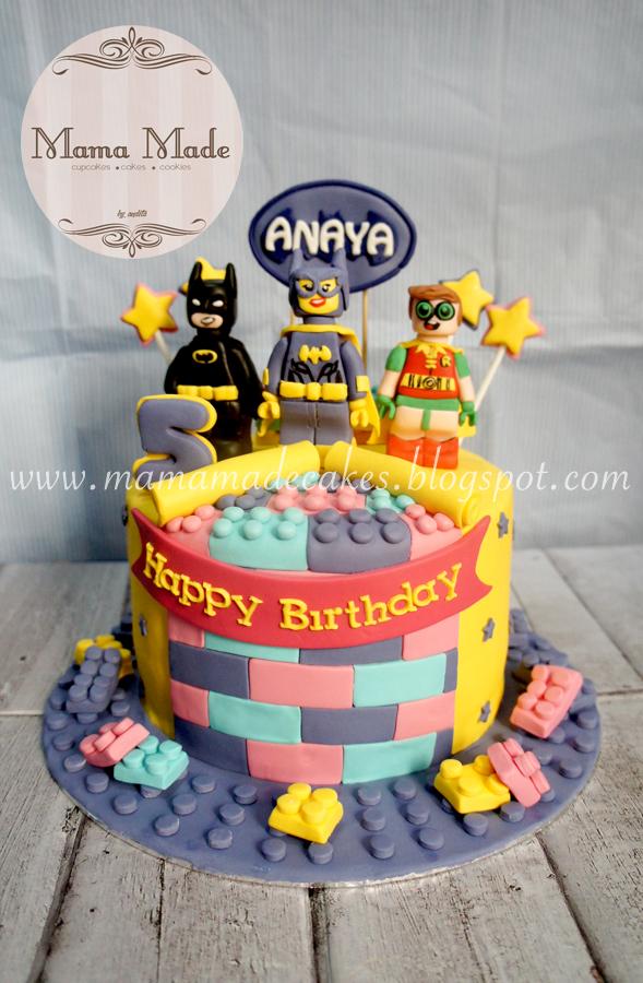 Batgirl Lego Movie Cake Mama Made Cakes