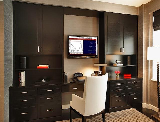 best custom home office desk wall units design online
