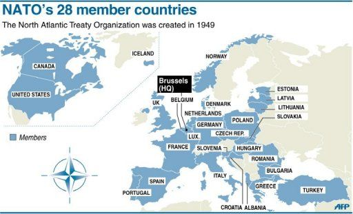 How much NATO member spends on military in 2014 - Business Insider