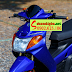 Mẫu sơn xe Yamaha Nouvo 1 màu xanh dương