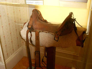 john muir riding saddle