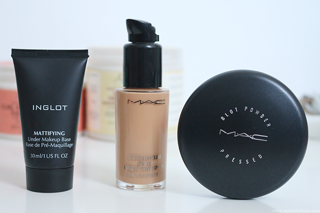 New in - MAC and Inglot Makeup