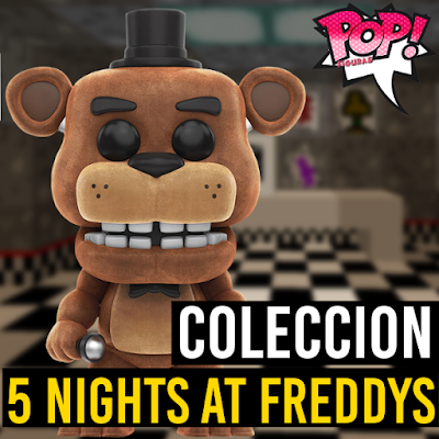 Lista de figuras funko pop de Funko POP Five nights at freddys