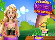 Rapunzel cooking Sushi