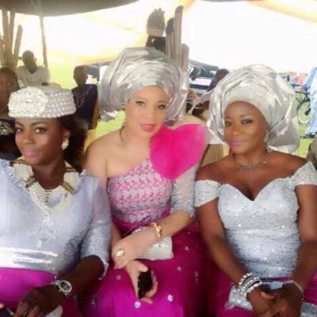 Celebrity Wedding Nollywood Movie: Ini Edo,Monalisa Chinda,Tonto Dikeh, Others At Nollywood