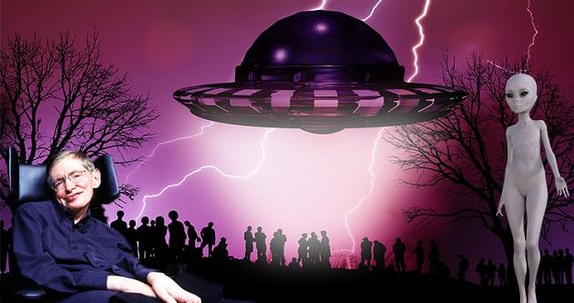 Stephen Hawking Uzaylıların Bir Gün Geleceğini Söylemişti