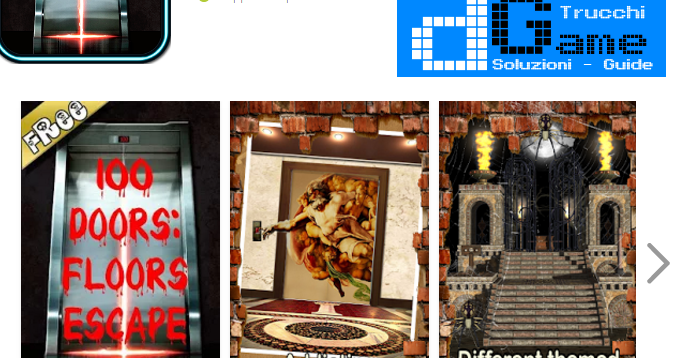 Soluzioni 100 Doors Escape Floors Livello 41 42 43 44 45