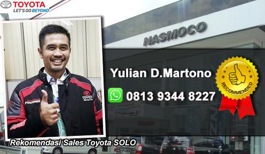 Rekomendasi Sales Toyota Wonogiri