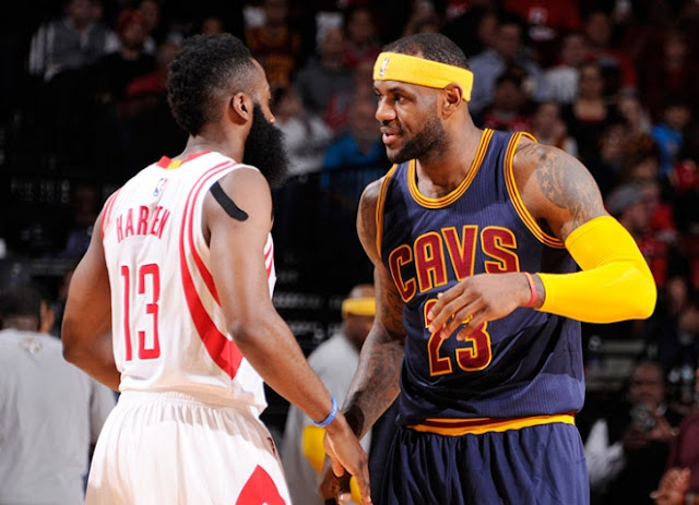 James Harden & LeBron James